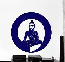 Wall Vinyl Decal Zen Buddha Meditation Enso Enzo Cool Decor z3876