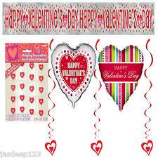 ST.VALENTIN Décoration de fête Fournitures Bannière Guirlande décoration ballons