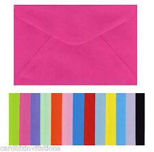 C6 Envelopes (20) 163mmx115mm Colours Smooth - Textured - Metallic - Vellum  New