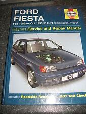 HAYNES MANUAL Ford Fiesta Feb 1989 to Oct 1985 (F to N Reg Petrol) 2003