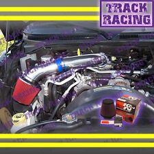 00-10 DODGE DAKOTA DURANGO RAM 1500 3.7 V6 4.7 V8 AIR INTAKE KIT+K&N Blue Red S