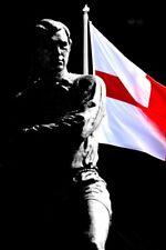 Bobby Moore estatua St George Cruz Inglaterra fotografía imagen cartel impresión