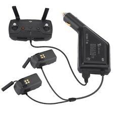 Chargeur de voiture pour batterie DJI Spark et télécommande moyeu de charge