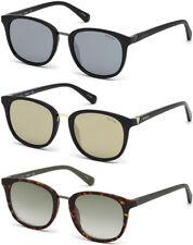 Guess Men's Classic Soft Square Sunglasses w/ Mirror Flash Lens - GU6927