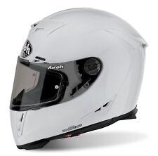 Airoh  GP 500 Gloss White Motorcycle Motorbike Mens Full Face Helmet ACU