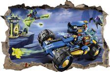 WANDAUFKLEBER Loch in der Wand 3D LEGO NINJAGO Wand Aufkleber Wandtattoo 85