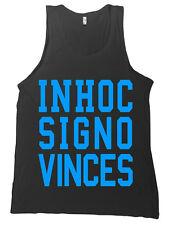 Sigma Chi In Hoc Signo Vinces Bella + Canvas Tank Top Inhoc Shirt MANY COLORS