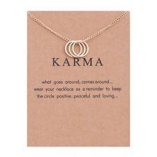 Fashion lucky wish jewelry Good Karma Happy Lotus Choker Necklace christmas gift
