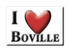 CALAMITA LAZIO ITALIA FRIDGE MAGNET MAGNETE SOUVENIR I LOVE BOVILLE (RM)