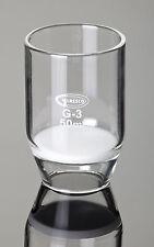 Filtertiegel 30 ml mit Filterplatte Glasfritte