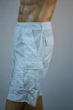 Ralph Lauren Men White Cargo Shorts White RL Logo  NWT
