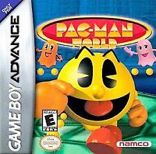 Pac-Man World (Nintendo Game Boy Advance, 2004) GAME ONLY NICE SHAPE NES HQ