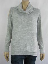 Crossroads Ladies Cowl Neck Cold Shoulder Top sizes 12 18 Colour Grey Marle