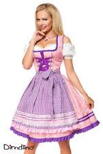 Sexy Dirndl von Dirndline Gr. 34-46 rosa/lila Wiesn Oktoberfest