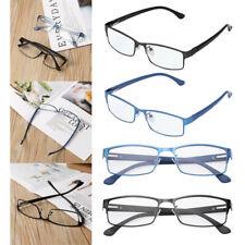 Men's Reading Glasses Metal Frame TR90 Flexible Eyeglasses +1.00~+4.00 Hot
