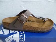 94fee2fd7d9a72 Birkenstock Gizeh Zehen Trenner Pantolette Sandale mocca 43751 NEU!