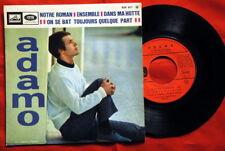 """ADAMO SALVATORE NOTRE ROMAN 1967 RARE FRENCH 7"""" EP"""