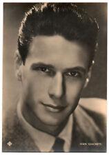 foto-cartolina originale IVAN GIACHETTI cantante EIAR anni '40