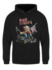 Iron Maiden Hoodie The Trooper Pullover Men's Black