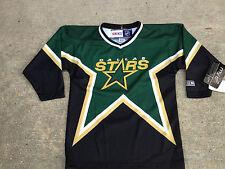 NHL Dallas Stars Replica CCM Youth Child 4-7 Yrs Hockey Jersey