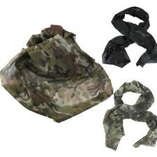 Bufanda táctica Militar Camo Scrim NET Ejército Francotirador Velo Caza SAS Disfraz