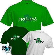 IRELAND - T Shirt, Irish, Shamrock, Country, Paddy, Saint Patrick, Quality, NEW