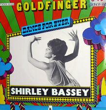 "SHIRLEY BASSEY 7"" GOLDFINGER DIFF. COVER  OST AGENTE 007  DIAMONDS FOR EVER BOND"