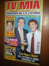 Tv Mia.PIPPO BAUDO & MASSIMO GILETTI,MAX OSSINI,LAURA BARRIALES,GABRIELE CIRILLI