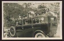 Transport Motor Car France 1930 RP PPC