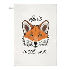 Don'T Fox CON ME Strofinaccio piatto PANNO - divertente animale