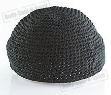 Black Knitted Kippah Yarmulke Tribal Jewish Hat covering Cap