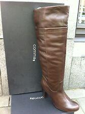 Comma, Scarpe da Donna Scarpe Stivali Stivaletti in pelle toni High Boot Vera Pelle