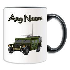 Personalised Gift Humvee Mug Money Box Cup Battle Multipurpose Wheeled Vehicle