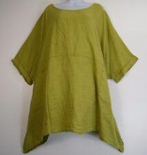 Plus Plus Size superposé 100% CUISINE Short Manche Baggy Top 8 Colours Fits 24-32