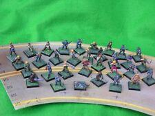 Games Workshop oscuro futuro, Street guerreros basado y bien pintados, anuncio de varios