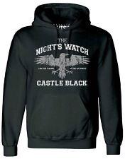 Men's Night's Watch Hoodie Jon Snow Game of Thrones Crow