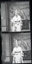 PHYLLIS DILLER 1965 TV w/CREDIT GERALD K SMITH  Original 2 NEGATIVE LOT U369