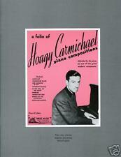 Hoagy Carmichael Exhibition Catalogue