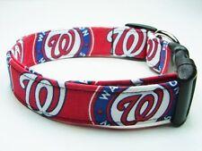 Charming Washington Nationals MLB Baseball Dog Collar