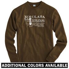 Xocolata Long Sleeve T-shirt LS - Chocolate Vintage Barcelona Spain  Men / Youth