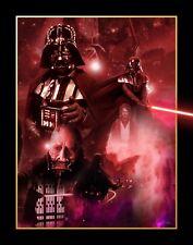 Star Wars-Darth Vader Movie Poster Collage LONA pared arte impresión de película SC-fi