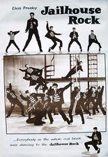 "ELVIS PRESLEY ""JAILHOUSE ROCK -ELVIS DANCING WITH FELLOW PRISONERS"" ASIAN POSTER"
