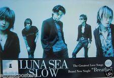 "LUNA SEA ""SLOW"" THAILAND PROMO POSTER - Progressive/Alternative/Pop/Hard Rock"