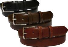 Cintura in pelle di vitello tipo cervo - 35 mm