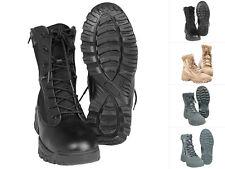Mil-tec Tactical botas two ZIP Zapatos Cuero botín de senderisml botas 39-46