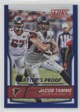 2016 Score Jumbo Artist's Proof #19 Jacob Tamme Atlanta Falcons Football Card