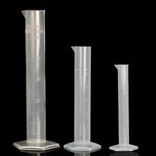 Scientific Plastic Graduated Cylinder Measuring Cylinder  10/50/100/500/1000ml