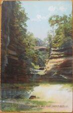 1909 Postcard: Deer Park Glen-Starved Rock, Illinois IL