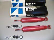 2 NOS AMC Front Shocks 1966-1969 Ambassador Rebel & others! 66 67 68 69