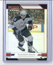 2003-04 BOWMAN CHROME ALEXANDER SVITOV REFRACTOR SP /300 #28 LIGHTNING